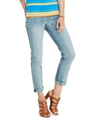 Lauren Ralph Lauren Cropped Premier Stretch Jeans Blue