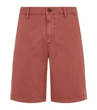 Paige Thompson Twill Shorts Red