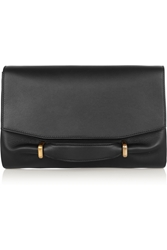 Nina Ricci Marche Leather And Suede Clutch