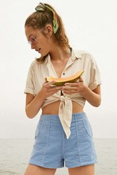 Op For Uo High Rise Corduroy Short Sky