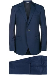 Lanvin Two Piece Formal Suit Blue