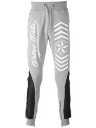 Philipp Plein 'Look At You' Track Pants Grey