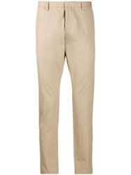 Dsquared2 Slim Fit Tailored Trousers Neutrals