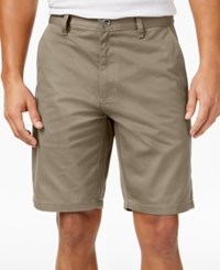 Rvca Men's Weekender Shorts Khaki