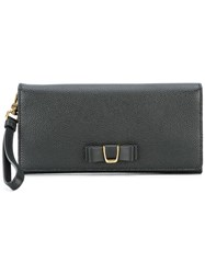 Bally Flap Closure Clutch Black
