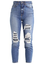 New Look Slim Fit Jeans Mid Blue