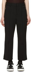 Neil Barrett Black Flared Ski Trousers