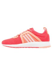 Adidas Performance Durama Cushioned Running Shoes Shock Red White Sun Glow