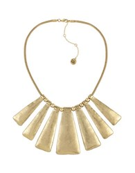 The Sak Goldtone Paddle Bib Necklace