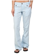 Mountain Khakis Island Pant Blue Note Women's Casual Pants Navy
