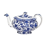 Burleigh Regal Peacock Large Teapot