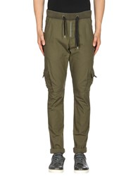 Energie Casual Pants Military Green
