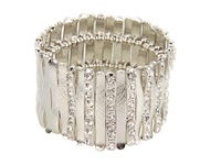Guess Stretch Bars Bracelet Silver Crystal Bracelet