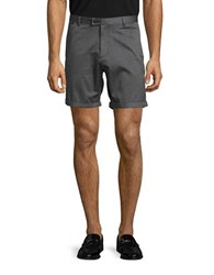 Calvin Klein Slim Fit Textured Shorts Black