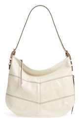 Hobo Serra Leather Bag White Magnolia