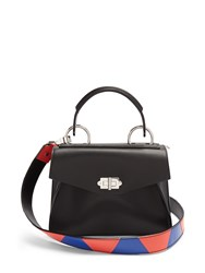 Proenza Schouler Hava Small Leather Tote Black Multi