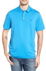 Tommy Bahama Men's Big And Tall Tropicool Spectator Polo Download Blue