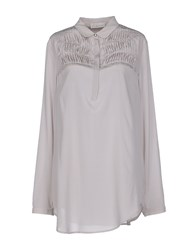 Alysi Shirts Blouses Women Light Grey