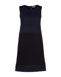 Marani Jeans Short Dresses Dark Blue