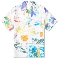 Soulland Orson Silk Vacation Shirt Multi