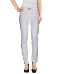 Versace Jeans Trousers Casual Trousers Women White