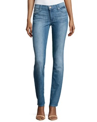 7 For All Mankind Straight Leg Jeans Bright Sky Blue