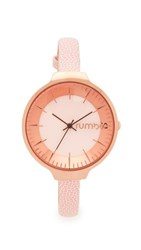 Rumbatime Orchard Leather Rose Smoke Watch Rose Gold Light Pink
