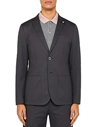 Ted Baker Cliford Piece Dyed Regular Fit Sport Coat Light Gray