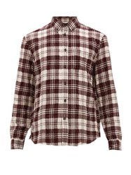 Acne Studios Sarkis Checked Wool Blend Shirt Multi