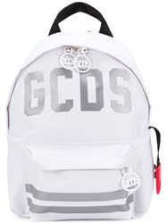 Gcds Logo Patch Backpack White