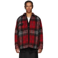 Bless Red Check Woodhacker Jacket
