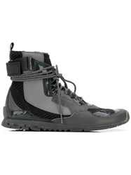 Camper Nothing Boots Grey