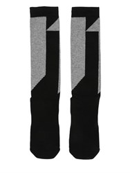 11 By Boris Bidjan Saberi Intarsia Cotton Blend Long Socks