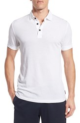 Men's French Connection 'Scattershield' Trim Fit Polo