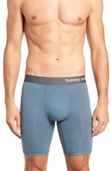 Tommy John Cool Cotton Boxer Briefs Blue Mirage