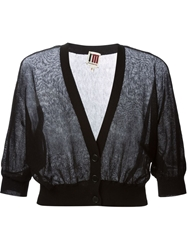 Isola Marras Cropped Cardigan Black