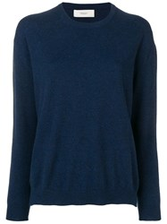 Pringle Of Scotland Knitted Jumper Blue