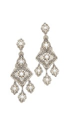 Miguel Ases Jenna Earrings Pearl Multi