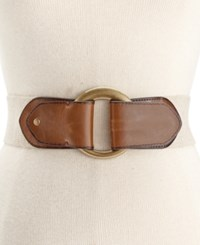 Styleandco. Style And Co. Harness Pull Back Stretch Belt Only At Macy's Natural