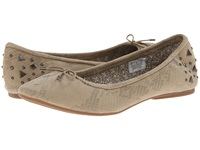 Sanuk Yoga Glitz Natural Snake Women's Flat Shoes Beige