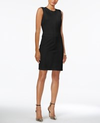 Armani Exchange Sleeveless Bodycon Dress Black