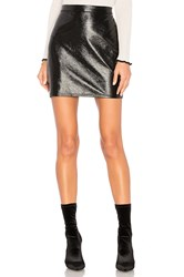 Lanston Brooklyn Mini Skirt Black