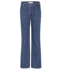 See By Chloe Flared Jeans Blue