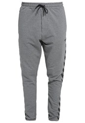 Hummel Clement Tracksuit Bottoms Dark Grey Melange Dark Gray