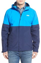 Helly Hansen Men's 'Fremont' Waterproof Rain Jacket Racer Blue