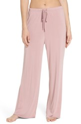 Topshop Cupro Pajama Pants Dusty Pink