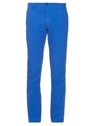 Polo Ralph Lauren Slim Leg Cotton Chino Trousers Blue