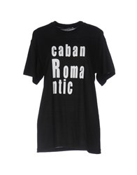 Caban Romantic T Shirts Black