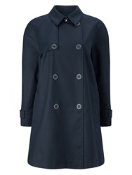 Eastex Belted Mac Navy