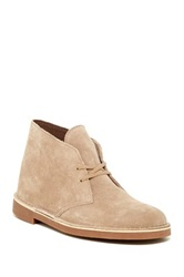 Clarks Bushacre Leather Chukka Boot Beige